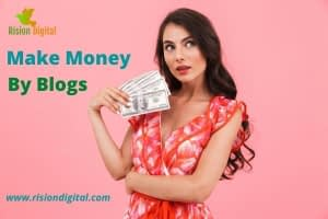 Earn online by Blogging