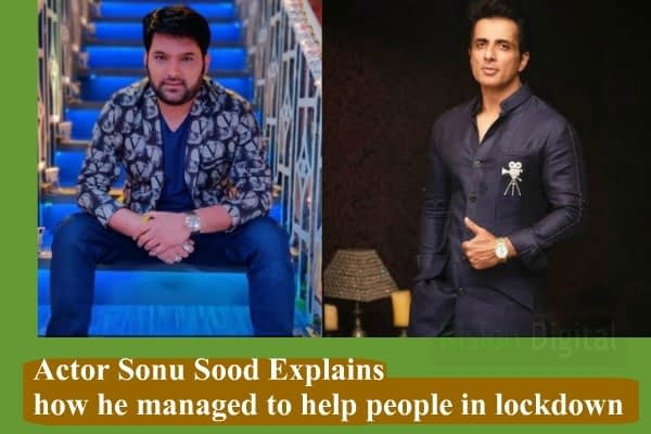 Actor Sonu Sood helped migrant people
