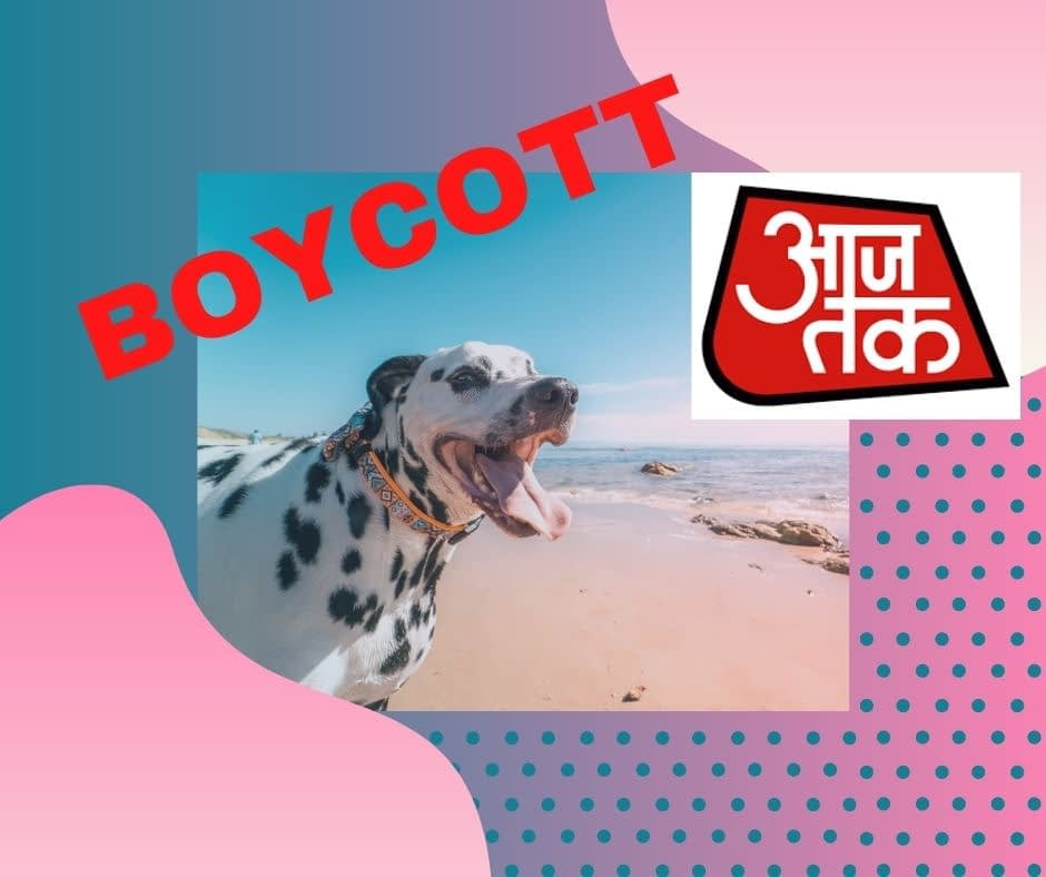 Boycott AAJ TAK