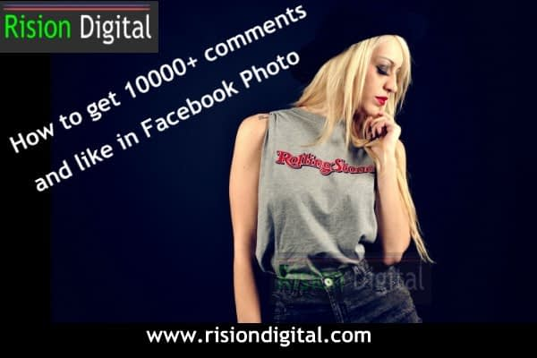 Increase 1000+ Like and Comments on FB Page