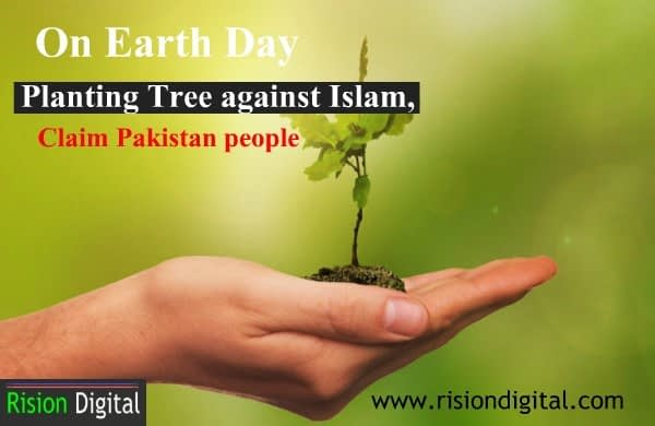Plant Tree on Earth Day