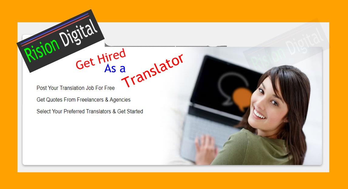 Work as a Translator