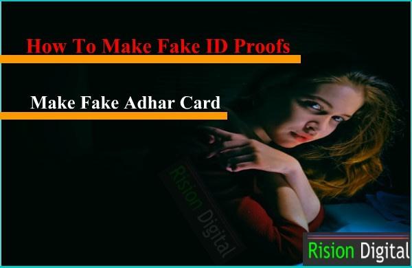 Fake ID Proofs