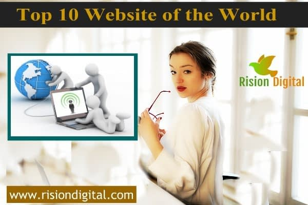 Top 10 website of the world