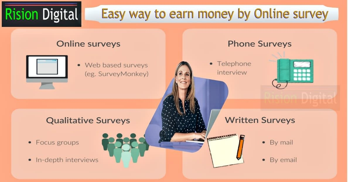 Online survey to earn money